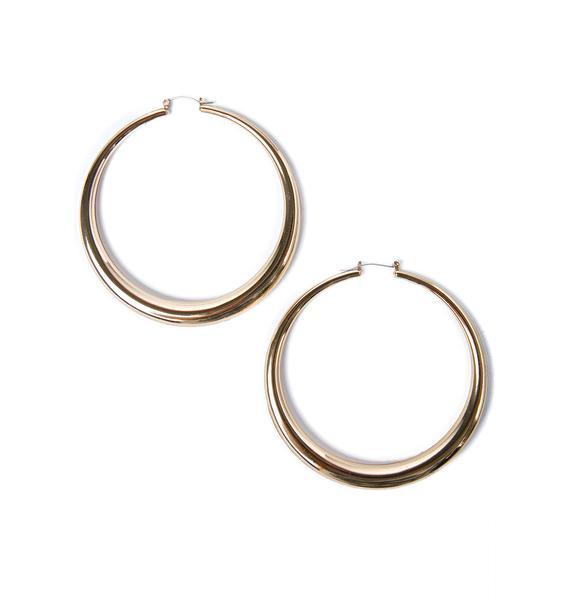 Dream Gal Hoop Earrings