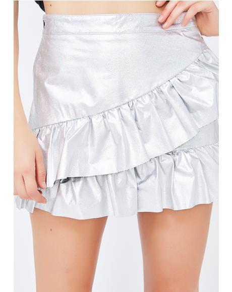 Edge Of Space Mini Skirt