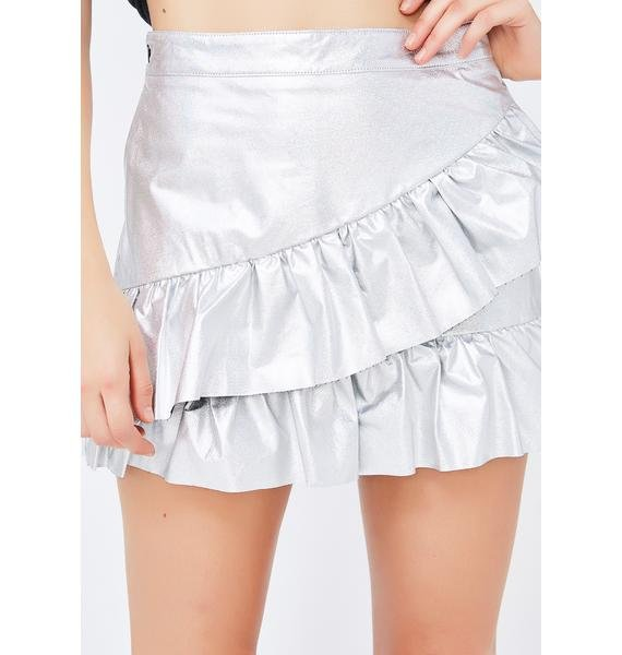 Edge Of Space Mini Skirt