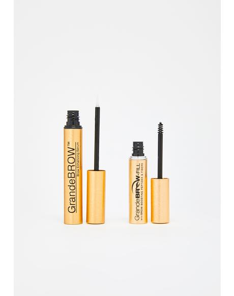 Brow Wow Enhancing Serum N' Gel Set