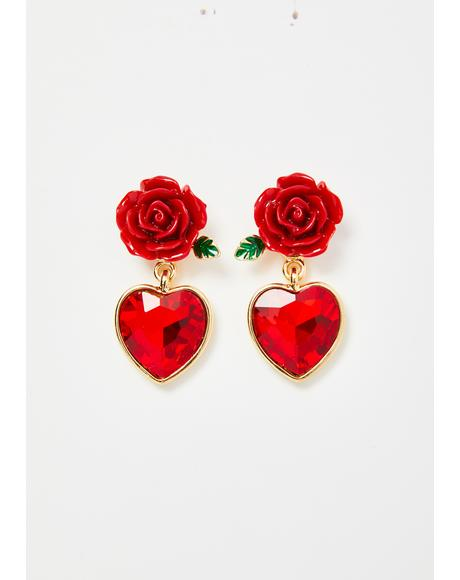 Romance Passion Stud Earrings