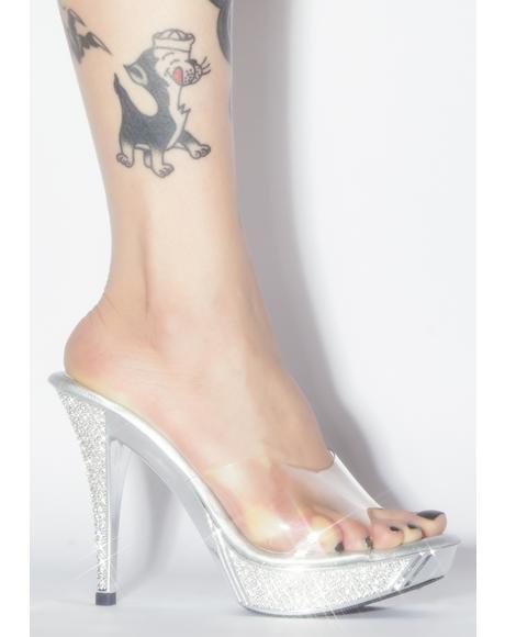Elegant Affair Rhinestone Heels