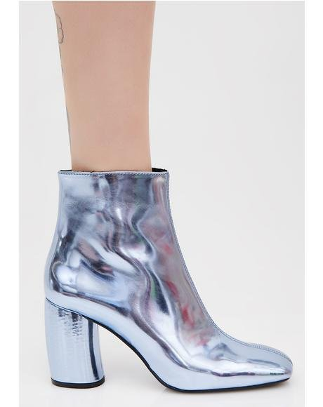Laguna Metallic Booties