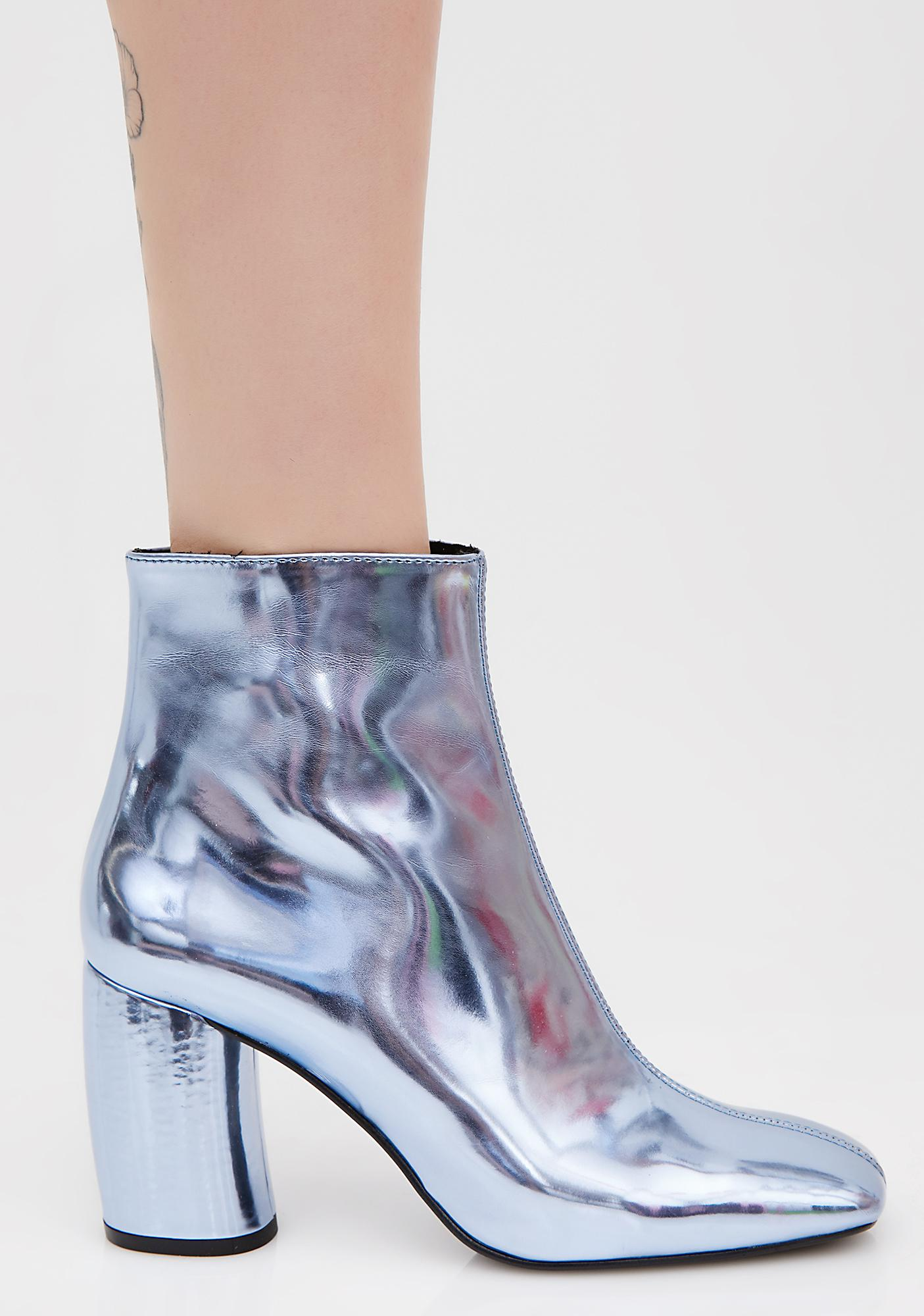 Crosswalk Laguna Metallic Booties