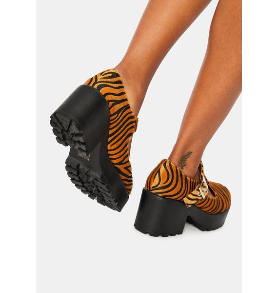Koi Footwear Exotic Tiger Mary Janes