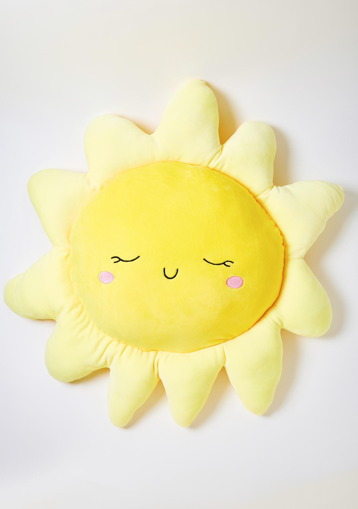 Be My Sunshine Stuffed Pillow