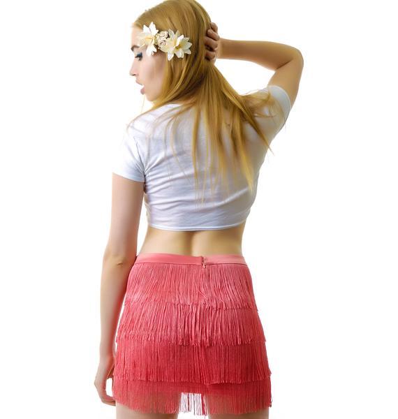 Fringe Benefits Skirt