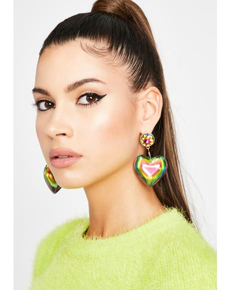 Epic Lova Heart Earrings