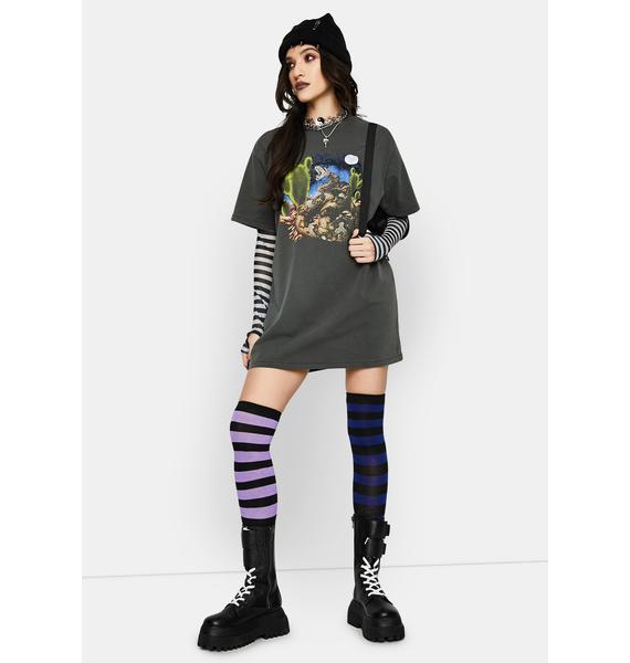THRILLS Happy Trails Mech Tee Dress