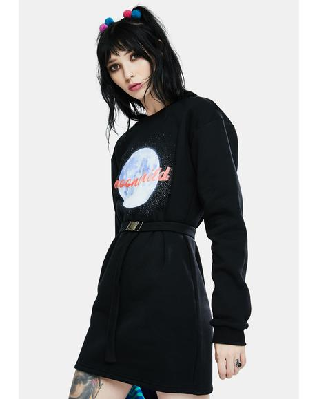 Moonchild Sweatshirt Dress