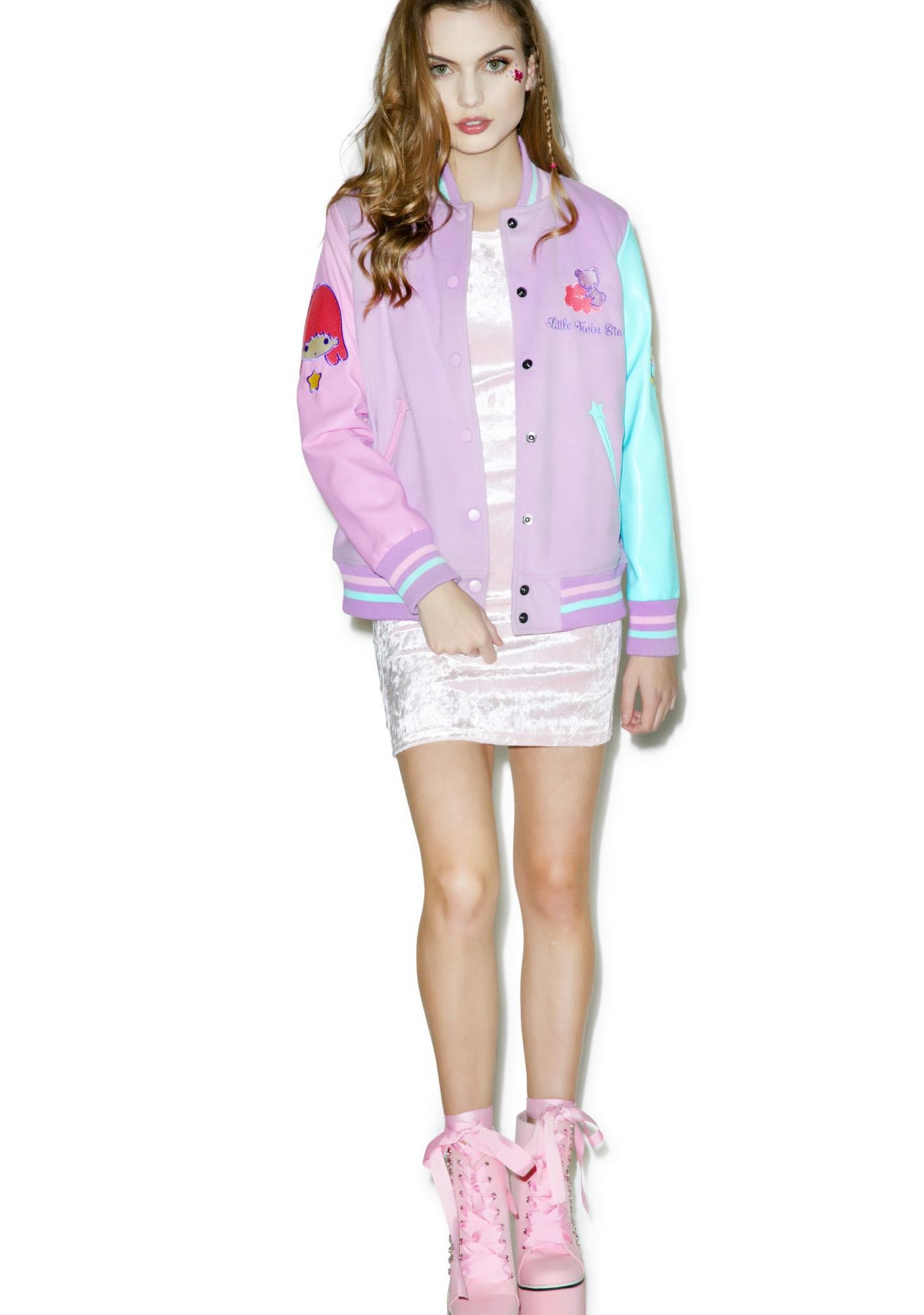 Japan L.A. Little Twin Stars Varsity Jacket