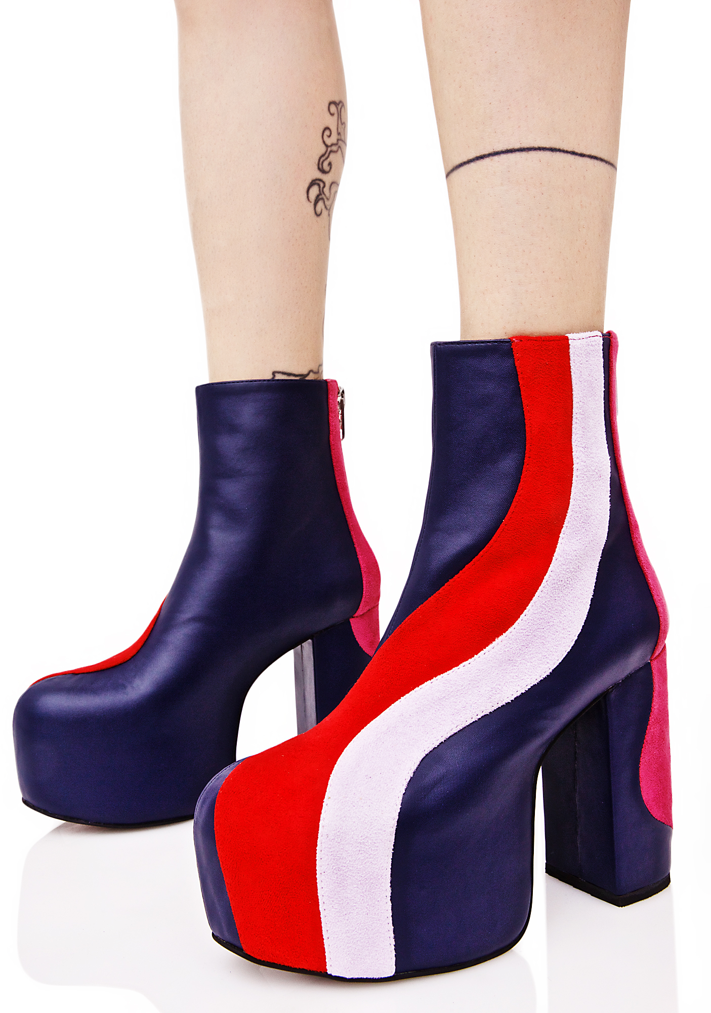 Current Mood Jawbreaker Platform Boots