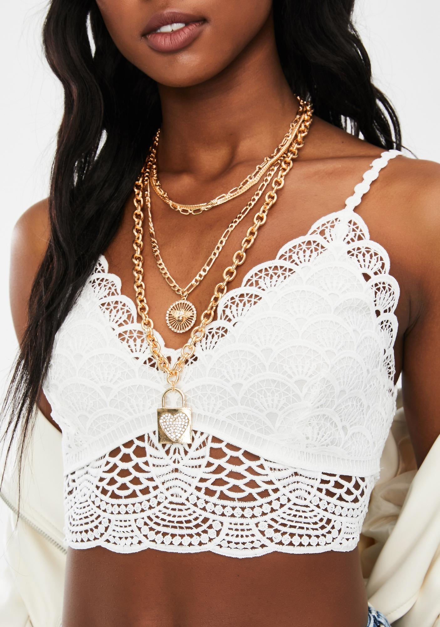 Be My Lova Layered Necklace