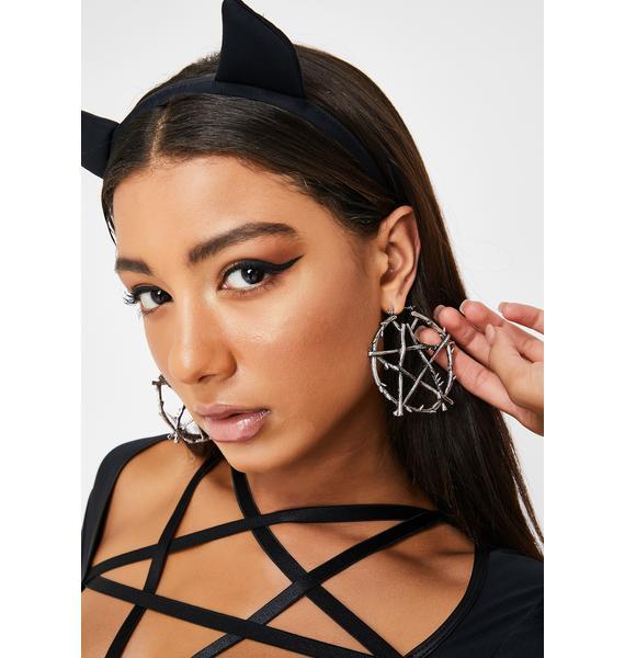 Devoted Darling Hoop Earrings