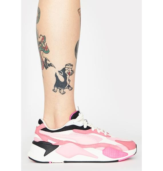 PUMA Peony RS-X3 Puzzle Sneakers