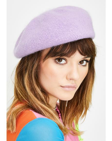 She's Fancy Knit Beret