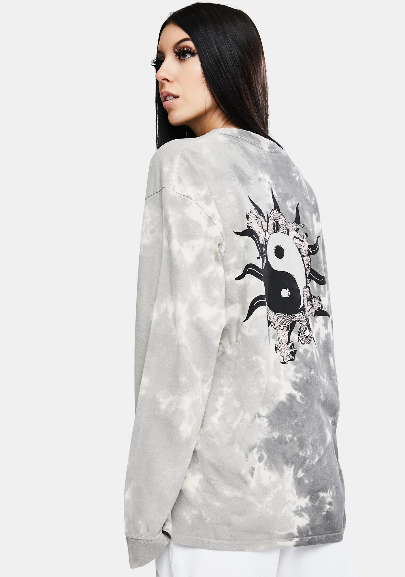 BDG Yin Yang Tie Dye Graphic Tee