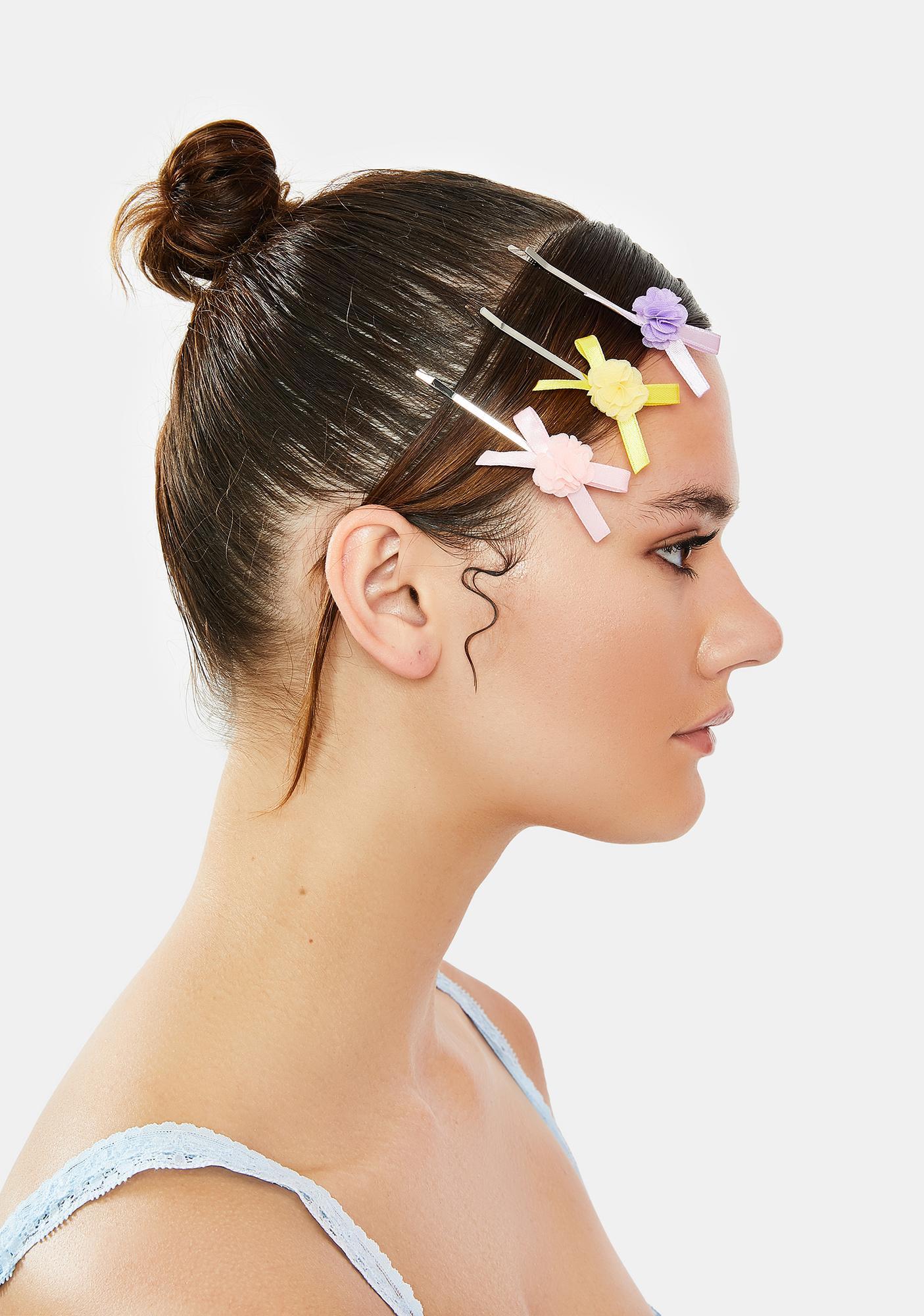 Floral Fiend Hair Clips