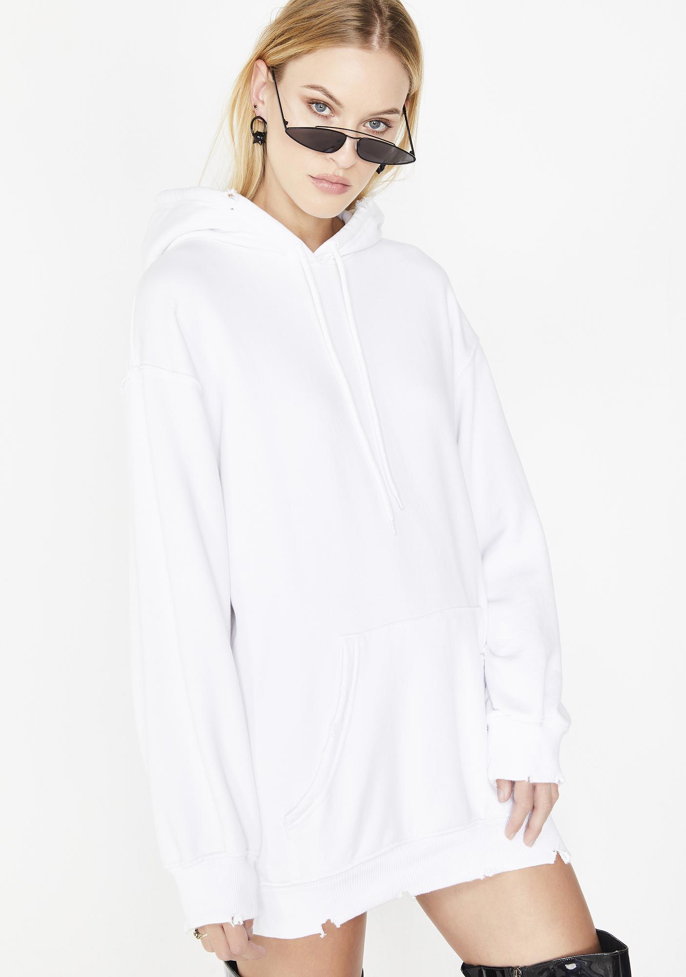 Kiki Riki Frosty Like Yee Distressed Hoodie