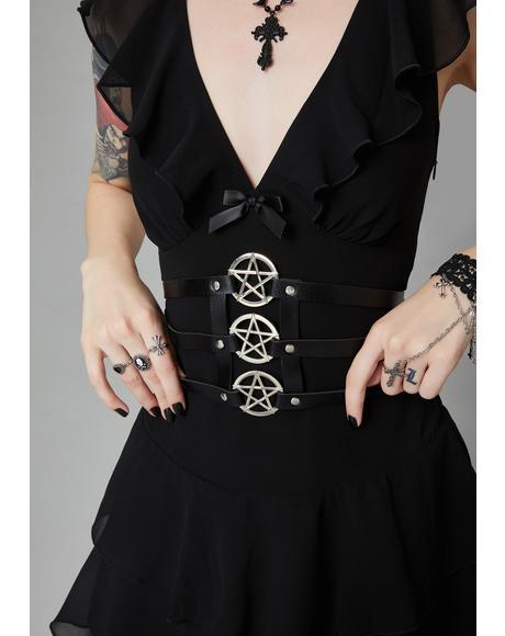 Enchanted Allure Pentagram Belt