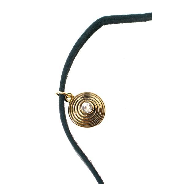 Fraiser Sterling Karma Bolo Wrap Necklace