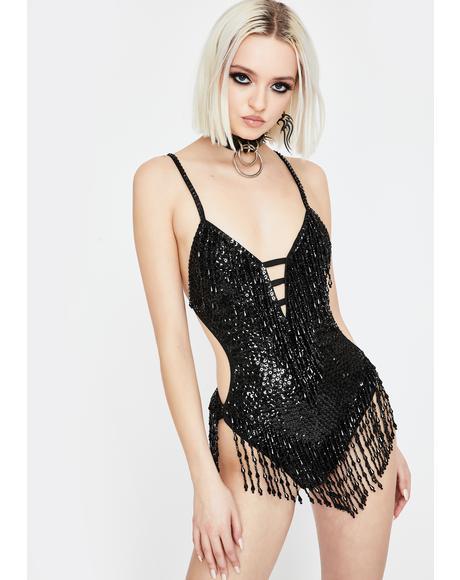 Shimmy Shimmy Stardust Sequin Bodysuit