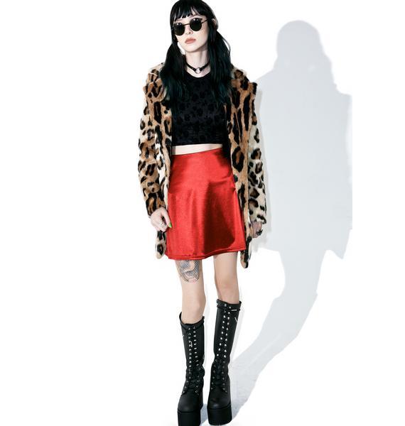 American Deadstock Night Jewel Mini Skirt