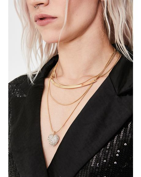 Classy Lady Layered Necklace