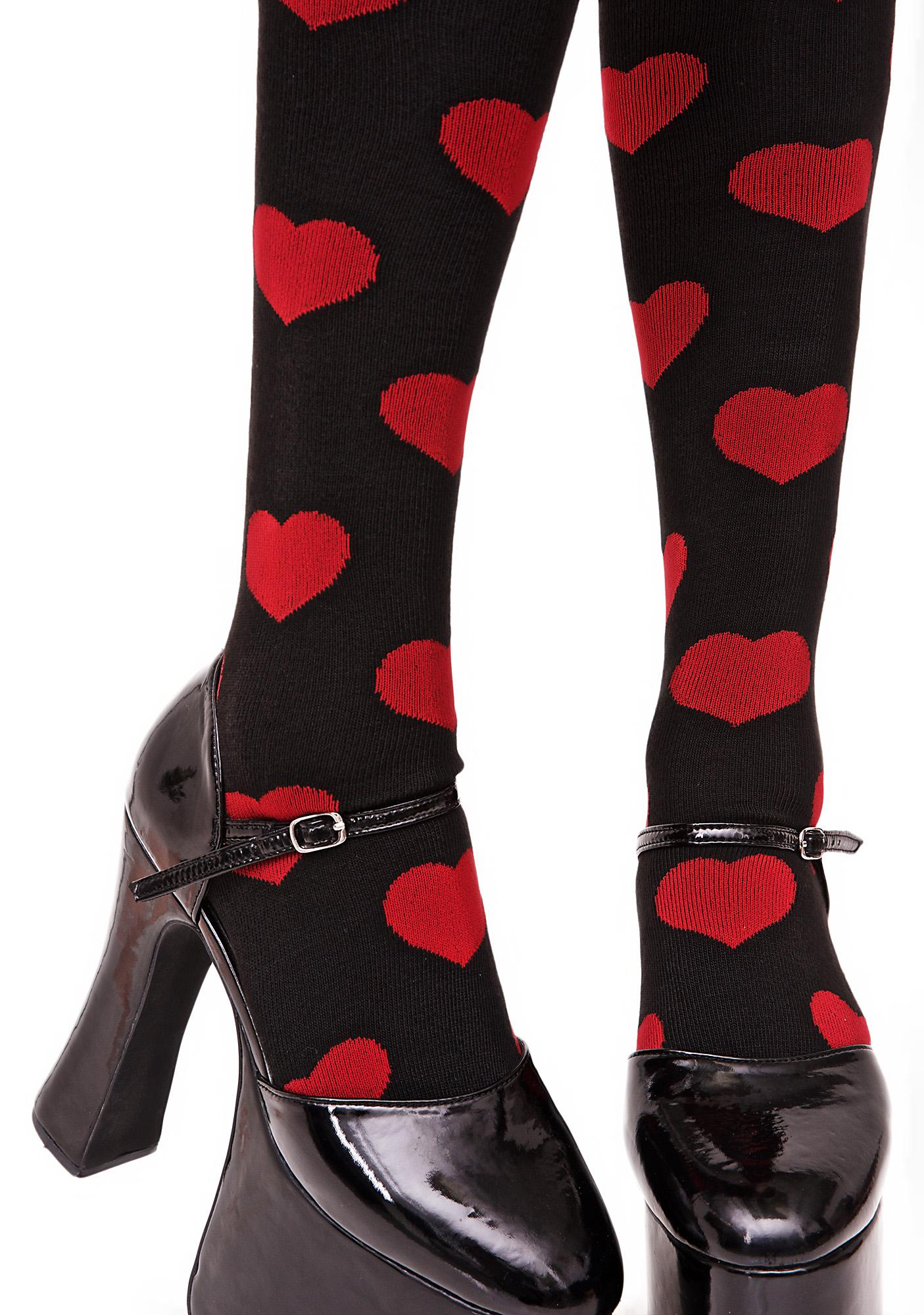 Game of Love Knee Highs
