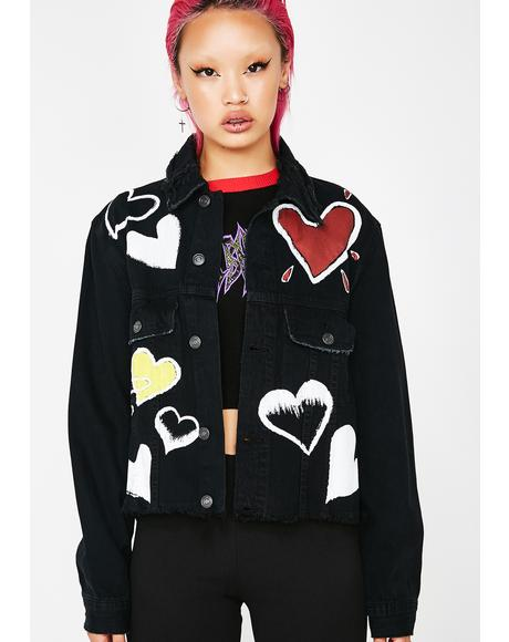 Livin' For The Luv Denim Jacket