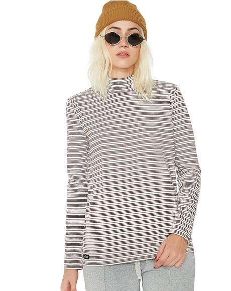 Holly Mock Neck Long Sleeve