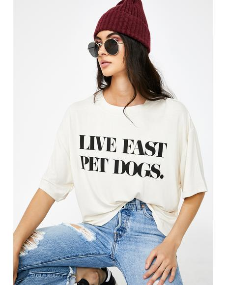 Live Fast Graphic Tee