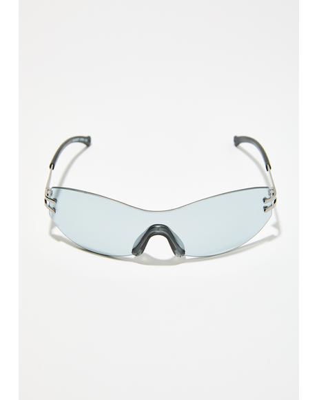 Minimalism Shield Sunglasses