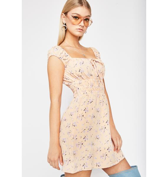 Sweet Wildflower Child Mini Dress