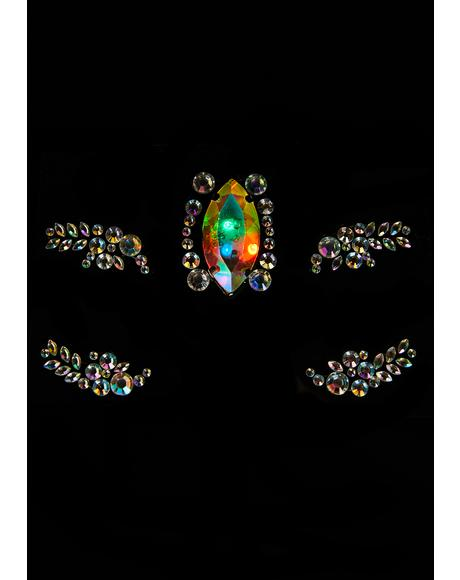 Opal Obscura UV Face Gems