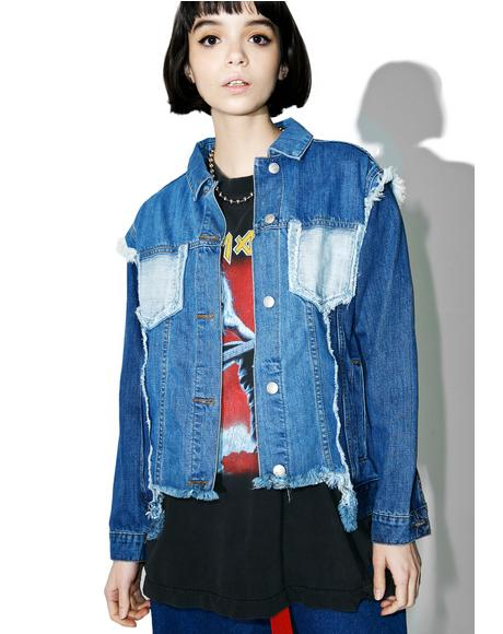 Justin Paneled Denim Jacket