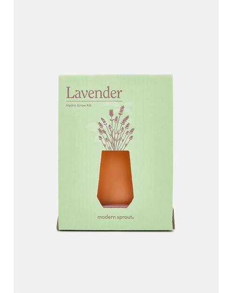 Lavender Tapered Tumbler