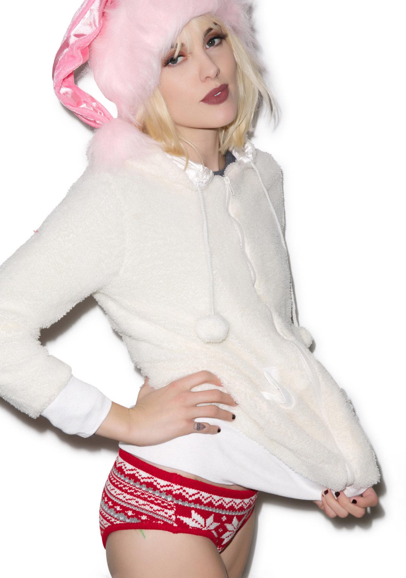 Knitty Kitty Snowflake Panty