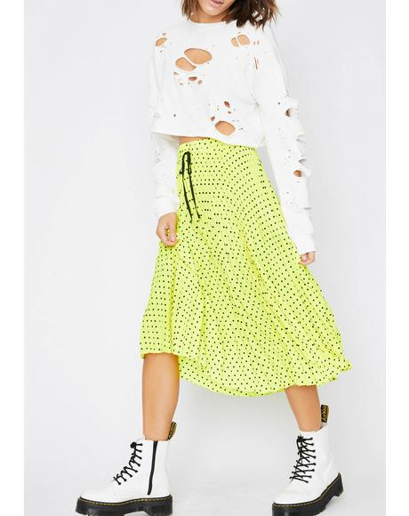 Vibin' Energy Pleated Skirt