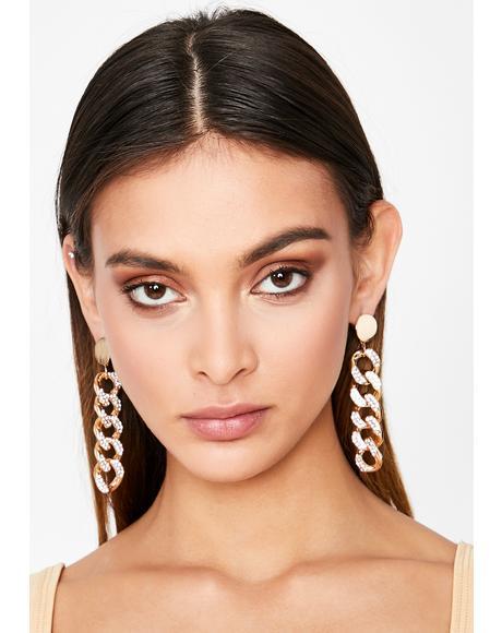 Make It Drip Chain Earrings