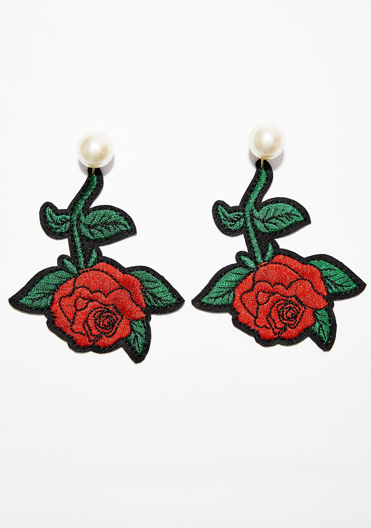 Rosy Realness Earrings