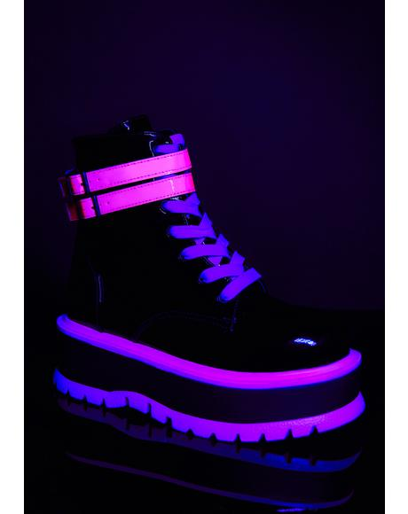 Sweet Chemical Fuse UV Platform Boots