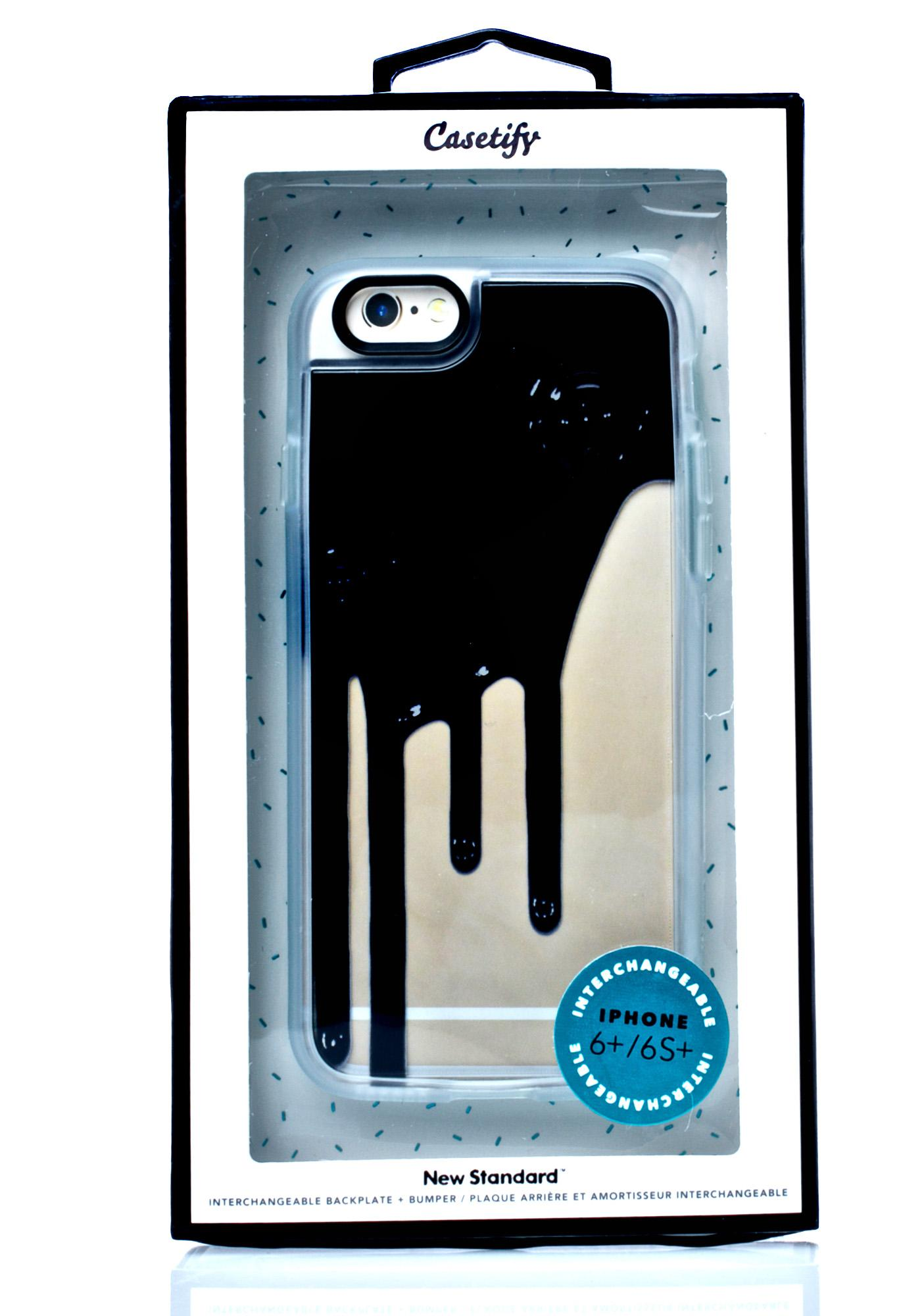 Casetify Blaq Drip iPhone 6 Case