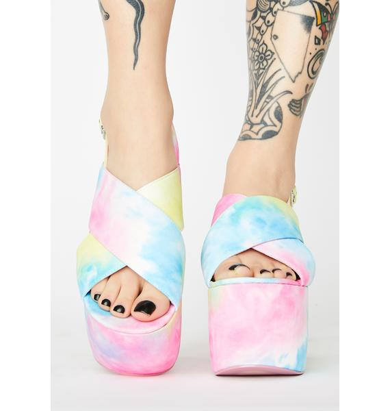 Current Mood Teenage Dream Platform Heels