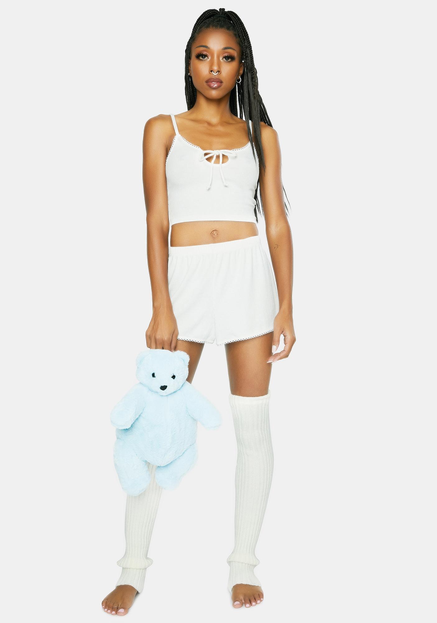 Dippin' Daisy's  White Day Drifter Lounge Shorts