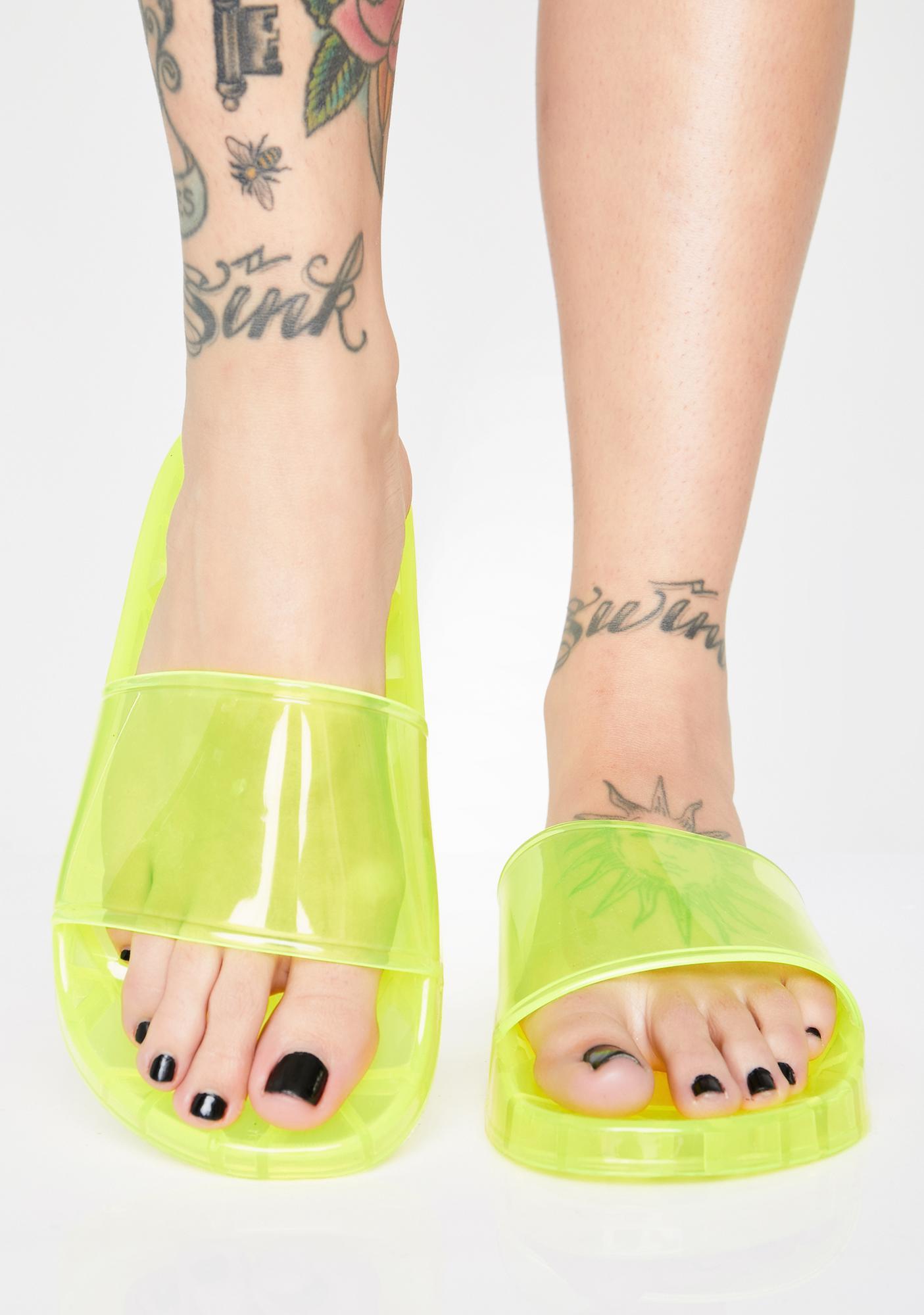 Neon Gumdrop Jelly Slides