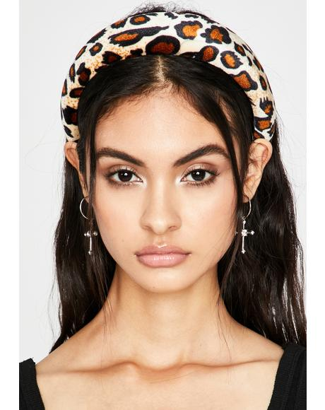 Icy Fierce Facts Leopard Headband