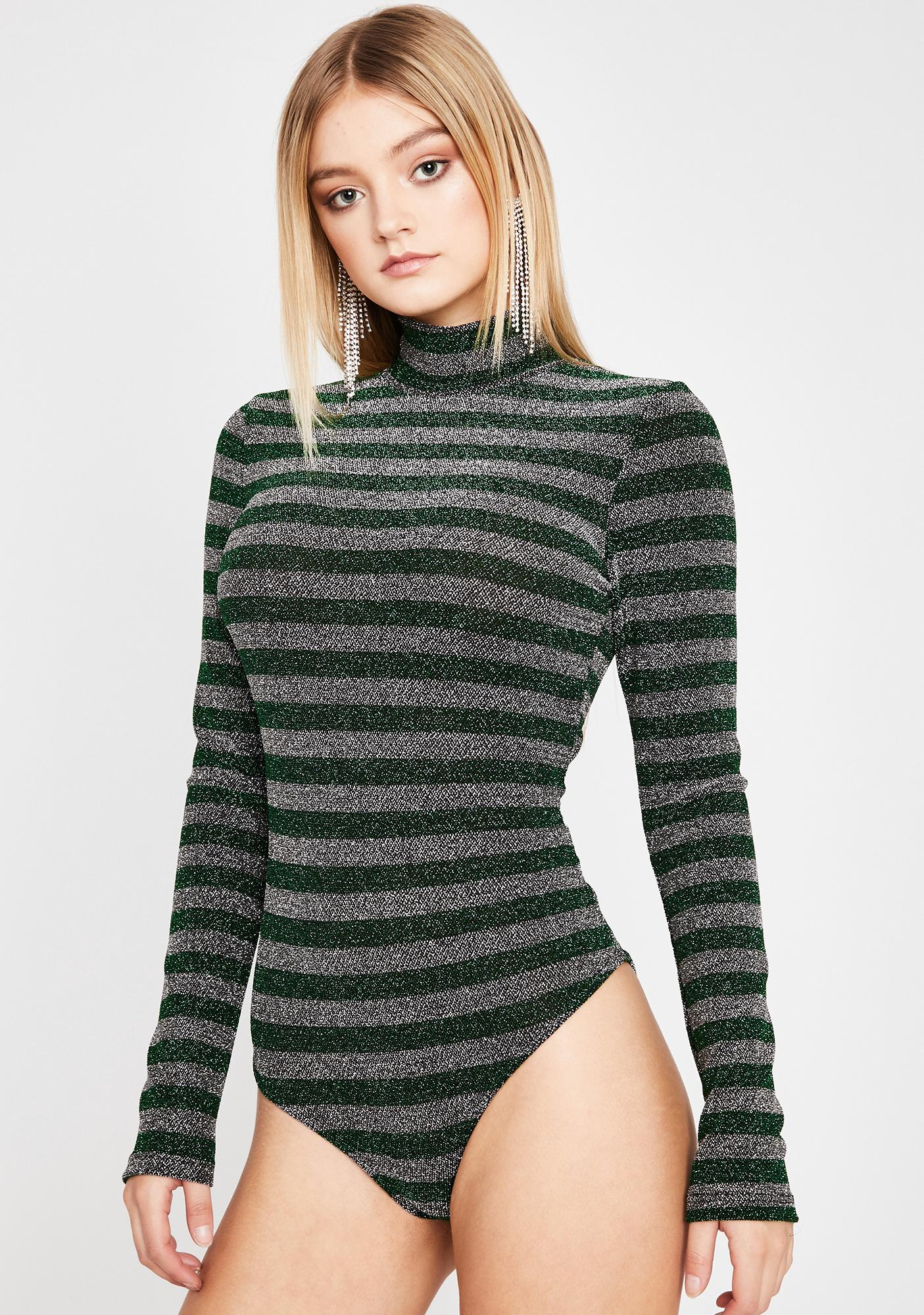Not Your Girl Striped Bodysuit