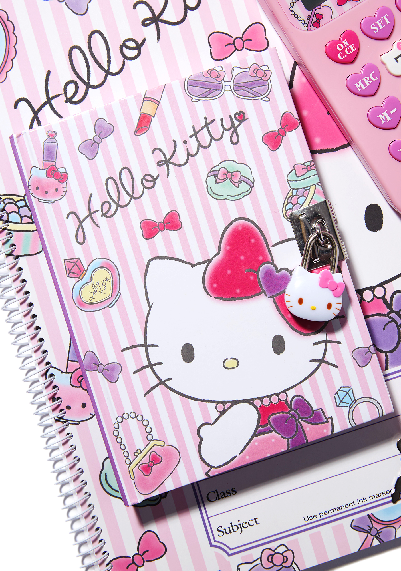 Sanrio Locking Diary