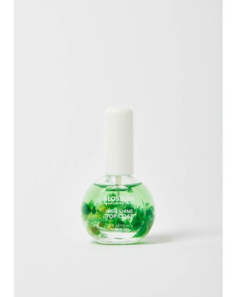 Green High Shine Top Coat